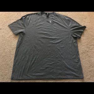 Calvin Klein Cotton T-Shirt 2 xlarge Gray